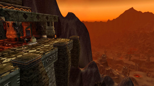The entrance to Blackwing Descent