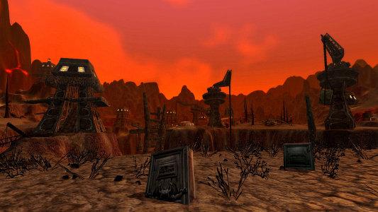 Cauldron graveyard