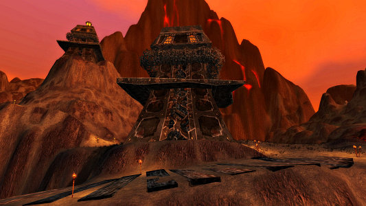 A Dark Iron lookout tower